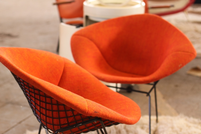 Bruxelles design market the good old dayz - Fauteuil bertoia occasion ...