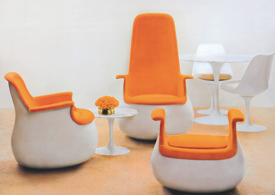 culbuto par marc held table tulipe par eero saarinen. Black Bedroom Furniture Sets. Home Design Ideas