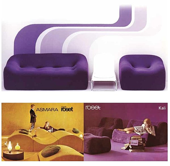 Canap vintage 50 60 70 the good old dayz for Ligne roset canape