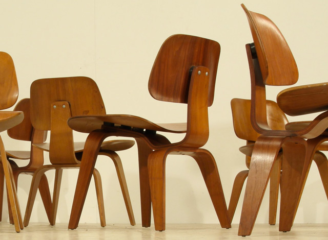 chaises lcw par charles ray eames the good old dayz. Black Bedroom Furniture Sets. Home Design Ideas