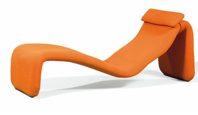 chaise longue djinn par olivier mourgue airborne 1965 the good old dayz. Black Bedroom Furniture Sets. Home Design Ideas