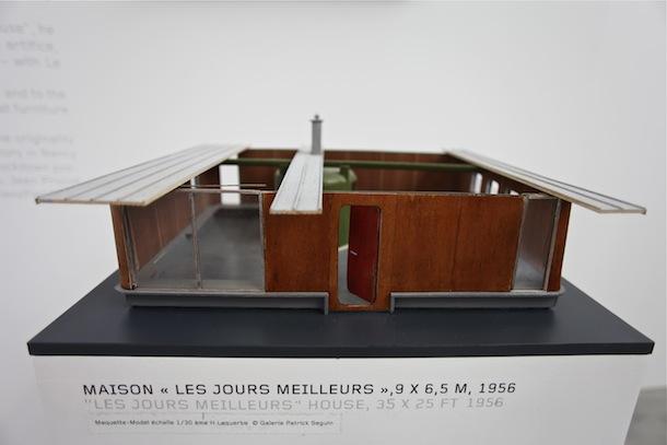 Jean prouve maison des jours meilleurs 1956 galerie patrick seguin pari - Maison des jours meilleurs ...