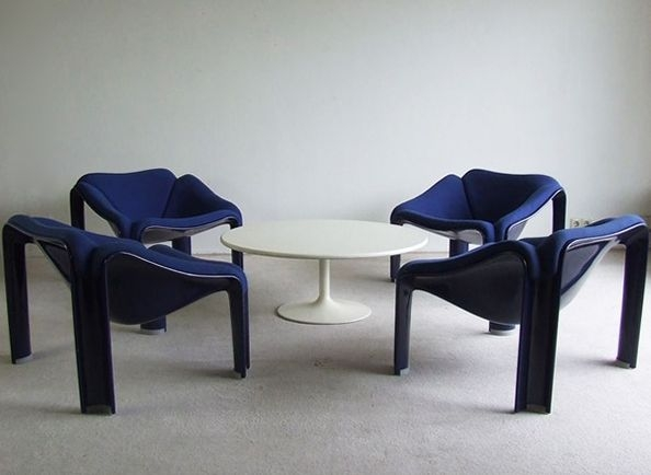 fauteuil pierre paulin f 300 artifort 1965 the good old dayz. Black Bedroom Furniture Sets. Home Design Ideas