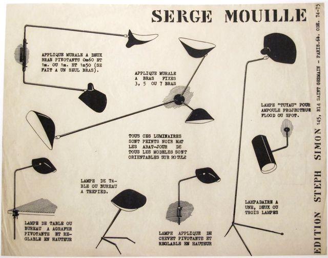 serge mouille the good old dayz. Black Bedroom Furniture Sets. Home Design Ideas
