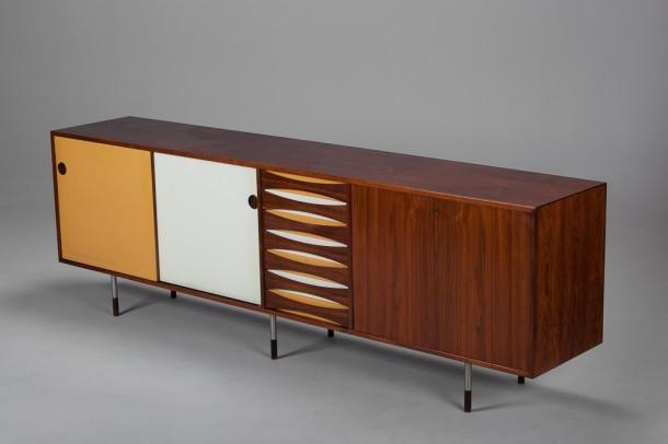 enfilade d arne vodder sibast a s circa 1950 the good old dayz. Black Bedroom Furniture Sets. Home Design Ideas