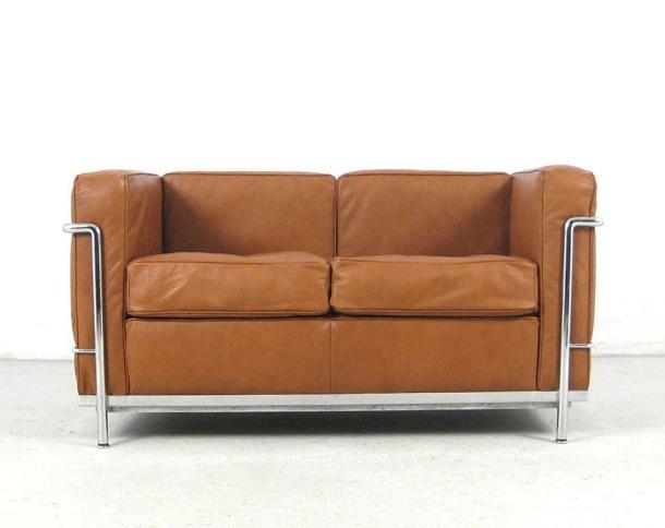 le-corbusier-cassina-lc-2-sofa-settee-cognac-leather-sessel-chair-original-b