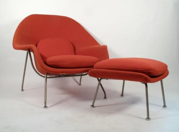 womb chair eero saarinen