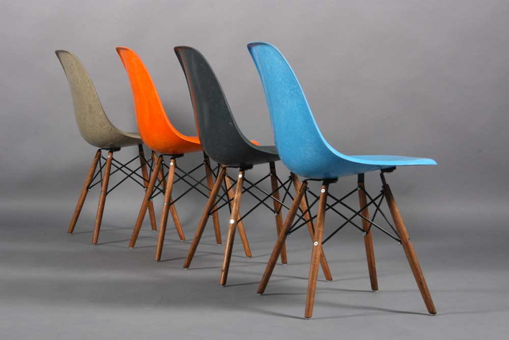 Chaise vintage paris the good old dayz - Charles et ray eames chaise ...