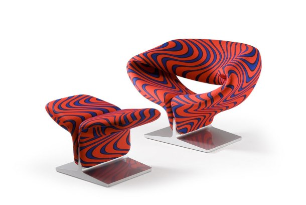 ribbon chair pierre paulin artifort