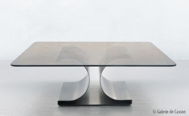table basse michel boyer 1968 galerie de casson