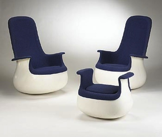 fauteuil culbuto par marc held knoll 1967 the good old dayz. Black Bedroom Furniture Sets. Home Design Ideas