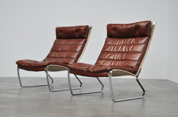 Jorgen Kastholm jk720 lounge chair kill international 1970 1