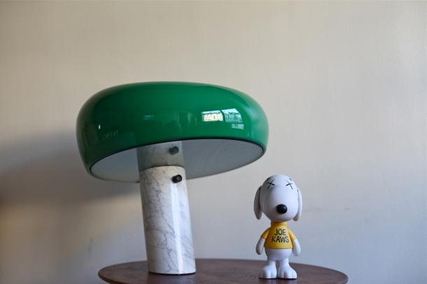 LAMPE SNOOPY PAR ACHILLE CASTIGLIONI x JOE KAWS
