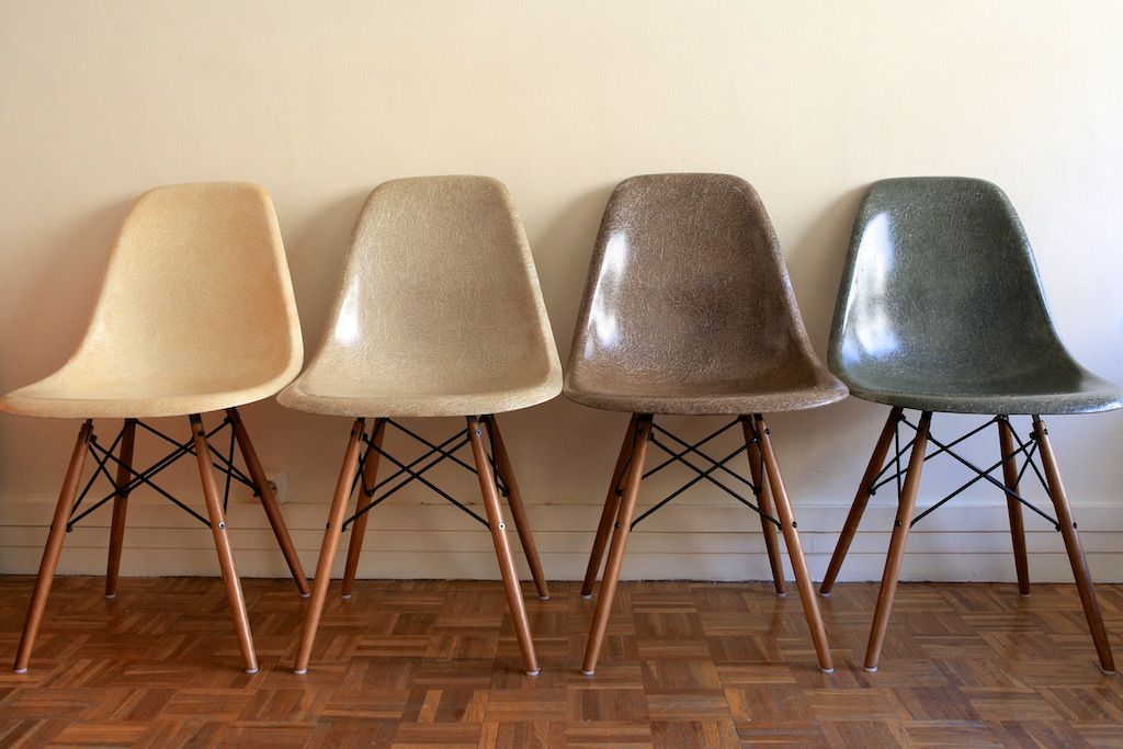 Chaises dsw eames herman miller circa 1960 the good old dayz - Chaises eames dsw pas cher ...