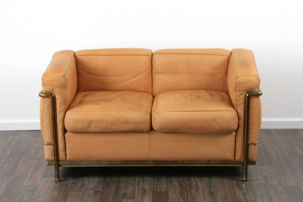 sofa lc2 le corbusier cassina the good old dayz 1