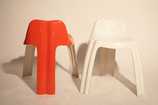 chaise tripode de patrick gingembre galerie utopie