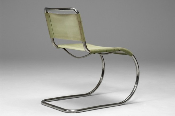 Chaise de ludwig mies van der rohe 1927 the good old dayz - Chaise mies van der rohe ...