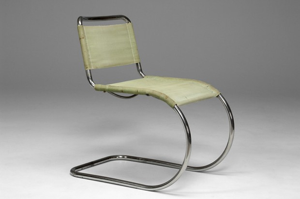 Chaise de ludwig mies van der rohe 1927 the good old dayz - Mies van der rohe chaise ...
