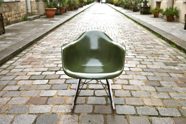 eames herman miller green army 2