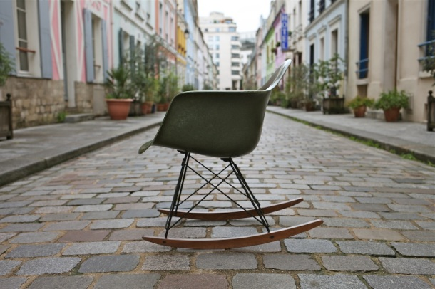 eames herman miller green army 3