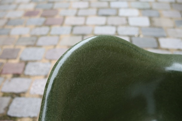 eames herman miller green army 5