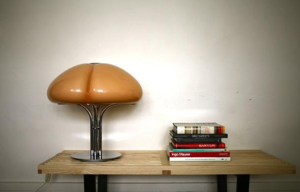 lampe quadrifoglio par Gae Aulenti - guzzini 1970
