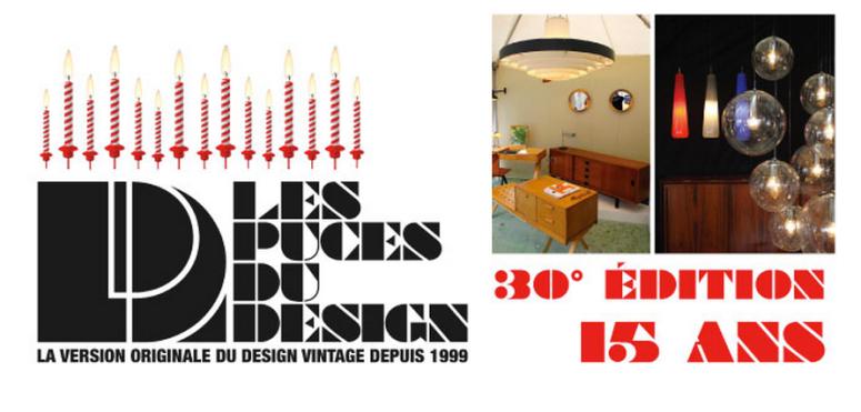 LES PUCES DU DESIGN 30 ème édition du 15 au 18 mai 2014