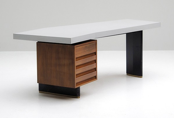 JOS DE MEY RARE BOOMERANG OFFICE DESK