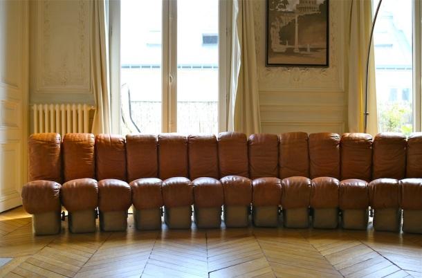 canapé sofa de sede ds 600 - Déjà vu design vintage  2