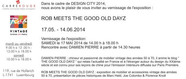 Invitation design city 2014