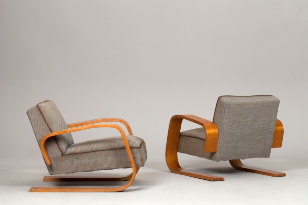fauteuils tank par alvar aalto artek circa 1930 the good old dayz. Black Bedroom Furniture Sets. Home Design Ideas