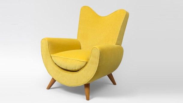 fauteuil-ambassador jean royere galerie jacques lacoste 1