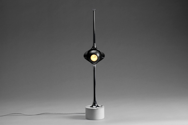 lampe cobra angelo lelli arredoluce 1960 - the good old dayz