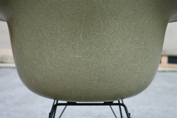 rocking chair rar eames herman miller raw amber 5