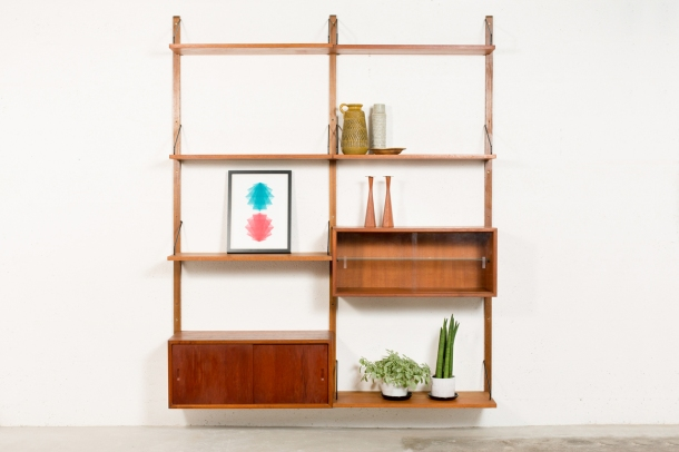 ST_048_POUL_CADOVIUS_ROYAL_SYSTEM_ETAGERE_MURAL_TECK_DANEMARK_MIDCENTURYMODERN_WALL_UNIT_FLOATING