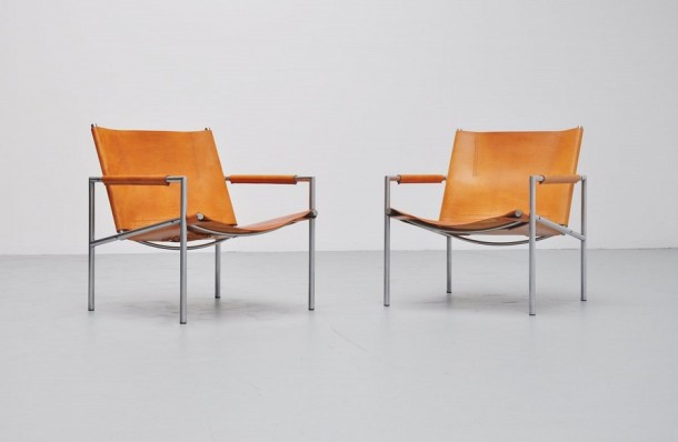 Martin Visser SZ02 lounge chairs 't Spectrum 1965 1