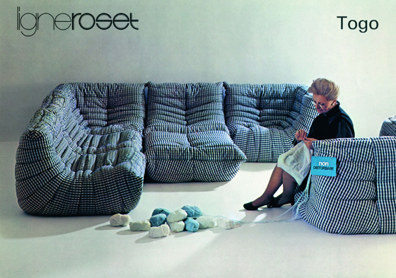 Ligne roset togo the good old dayz for Housse togo ligne roset