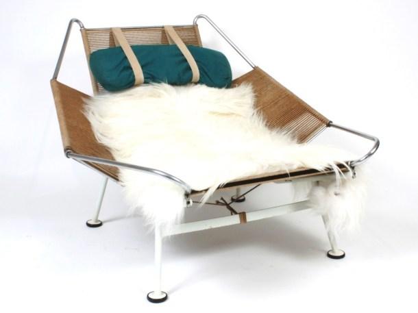 fauteuil flag halyard hans wegner getama artefact design