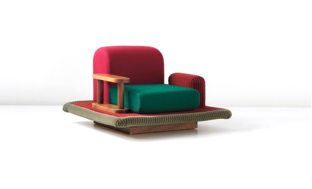 fauteuil tappeto volante ettore sottsass edition bedding brevetti 1974 1
