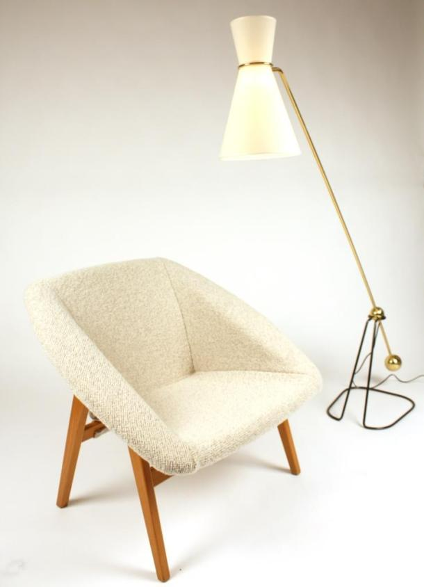 LAMPADAIRE A BALANCIER G2 DE PIERRE GUARICHE - DISDEROT 1951 2