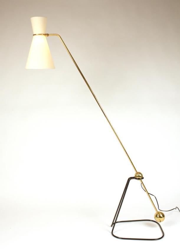LAMPADAIRE A BALANCIER G2 DE PIERRE GUARICHE - DISDEROT 1951