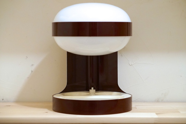 lampe KD29 marron joe colombo kartell 1967 4