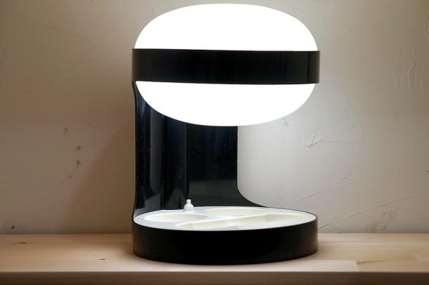 lampe KD29 noire joe colombo kartell 1967 1