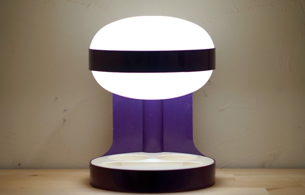LAMPE KD29 PURPLE JOE COLOMBO KARTELL 2