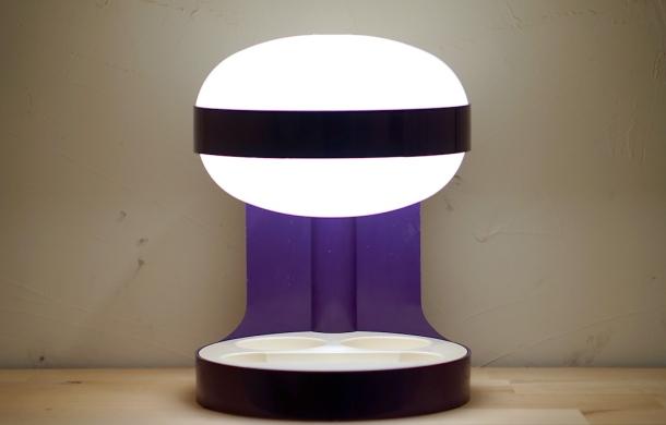LAMPE KD29 PURPLE JOE COLOMBO KARTELL 2