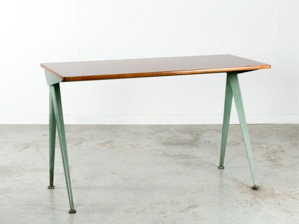 Artcurial table compas jean prouvé 1953