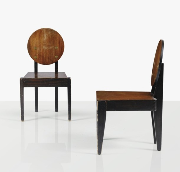 chaises modernistes andré sornay 1930