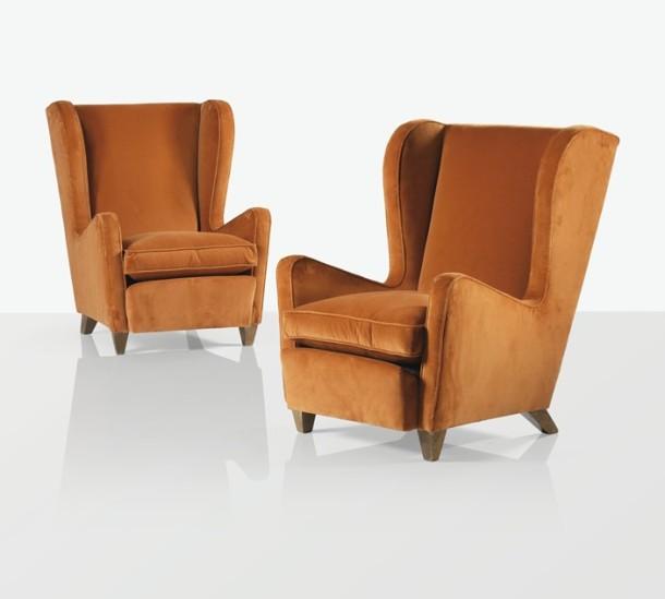 fauteuils souffleur jean royere 1960