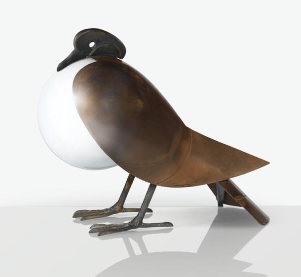 lampe pigeon françois xavier lalanne 1991