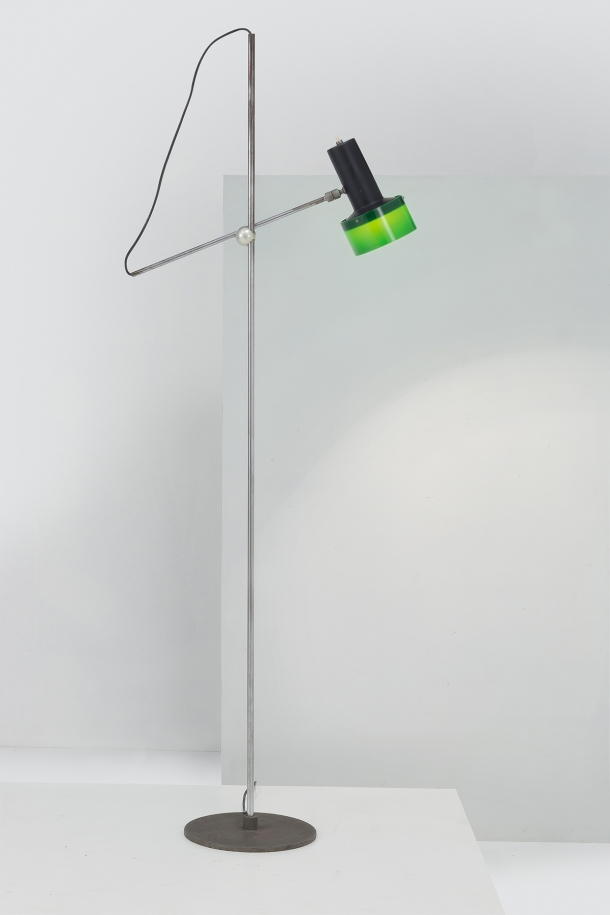 lampadaire 1083 de gino sarfatti arteluce 1962